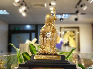 tượng ông thọ mạ vàng